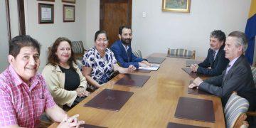 Directiva de Sindicato Nº2 realizó visita protocolar a Rector Carlos Saavedra